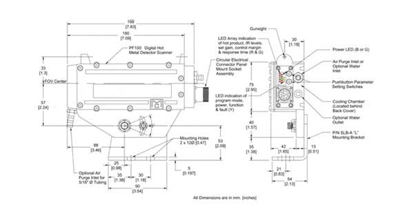 扫描式热检 MSE-PF100外壳参数